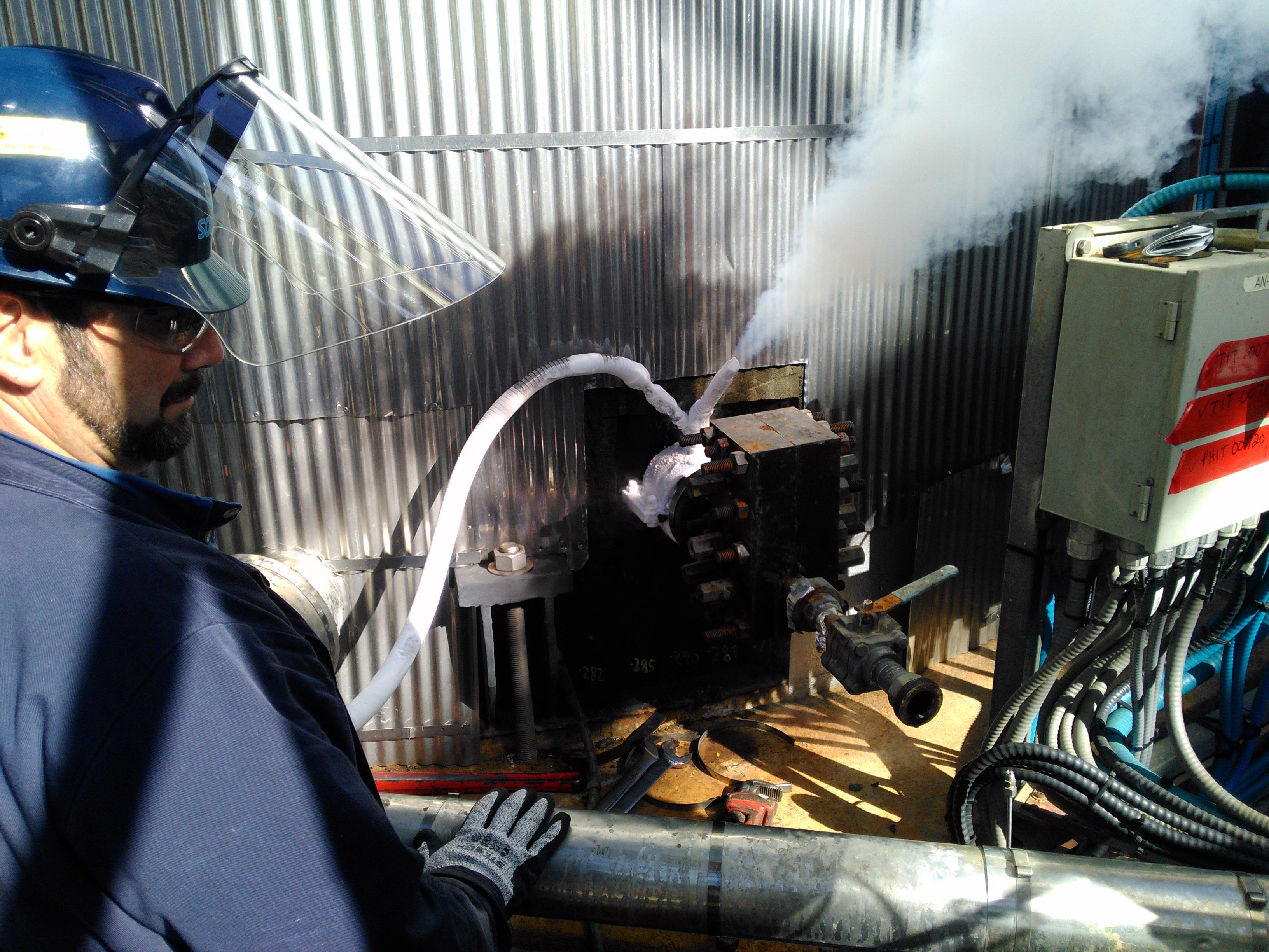 Accu-Freeze Nozzle Freezing