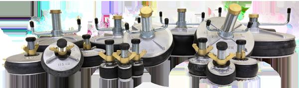 Cast Aluminum Expansion Pipe Plugs