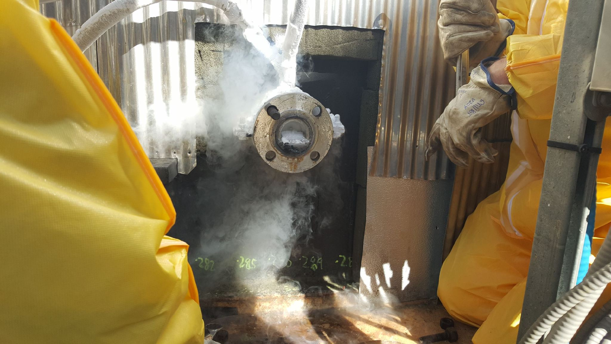 Accu-Freeze, Chemical Plant Freeze breaks all the rules