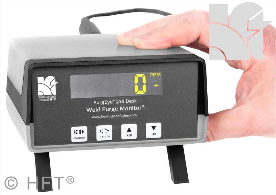 Argweld PurgEye Weld Purge Monitor Gas Analyser Oxygen Weld Analysers