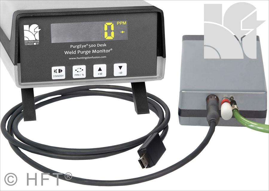 PurgEye 500 Weld Purge Monitor storage case accessories