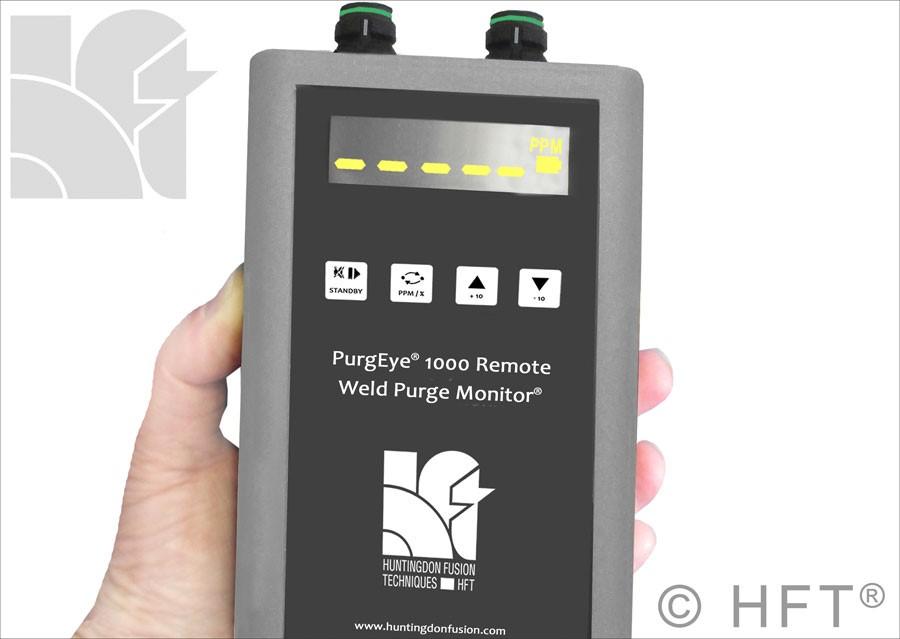 PurgEye 1000 Remote Weld Purge Monitor Sensor Display Unit