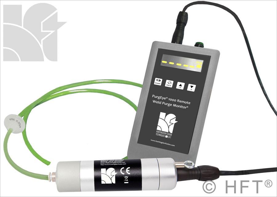 Argweld PurgEye 1000 Remote Weld Purge Monitor Oxygen Analyzer Welding Gas Analyser
